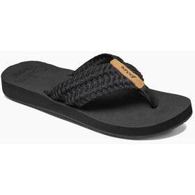 Reef Cushion Threads Flip-flopit Naiset, black